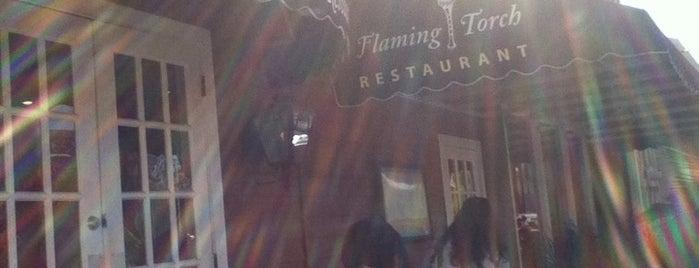 Flaming Torch is one of James: сохраненные места.