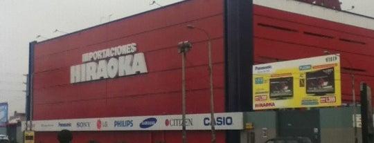 Importaciones Hiraoka is one of Orte, die Jose gefallen.