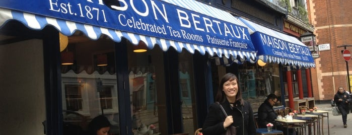 Maison Bertaux is one of London & Edinburgh.
