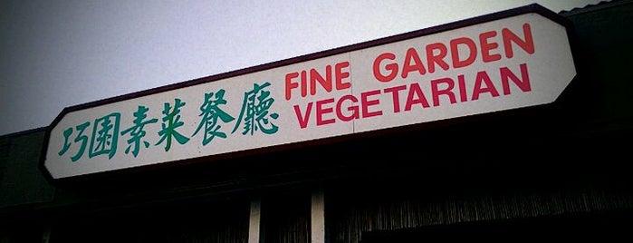 Fine Garden Vegetarian is one of vegan friendly.