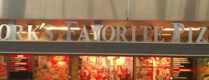 Famous Famiglia Pizza is one of EWR Terminal C.