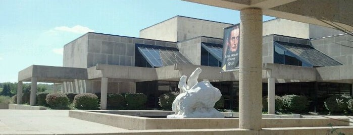 Kansas Museum of History is one of Great places for museum mysteries.