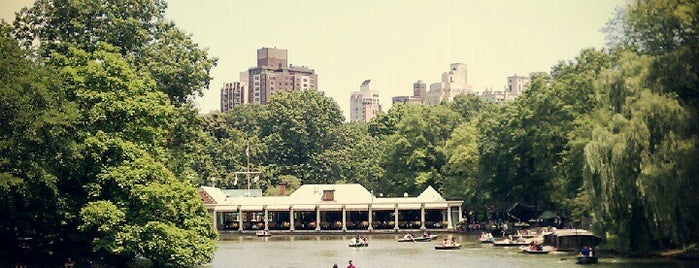 The Loeb Boathouse is one of Experience Central Park on The Mark Bikes.