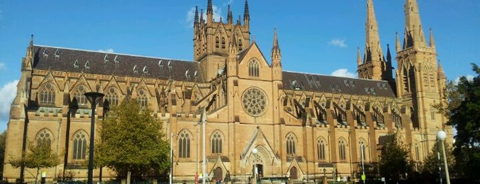 St Mary's Cathedral is one of Around The World: SW Pacific.