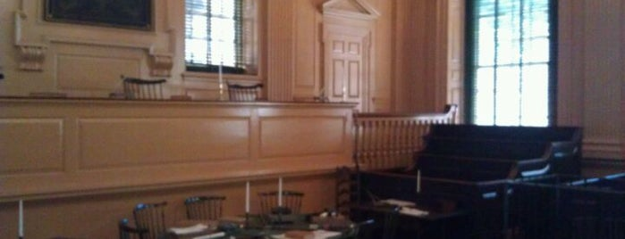 Independence Hall is one of Let's get lose.