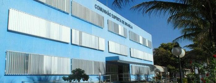 Comunhão Espírita de Brasília is one of Pontos Turisticos.