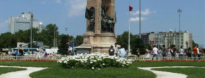 Place Taksim is one of alev.