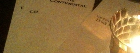 The Continental Lounge is one of Des Moines Foodster.