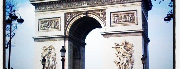 Arco de Triunfo is one of World Sites.