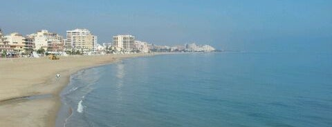 Playa Morro De Gos is one of Valencia.