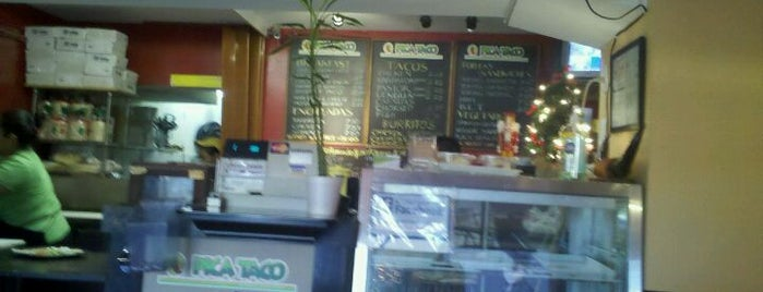 Pica Taco is one of ♥ Columbia Heights / Mt. Pleasant.