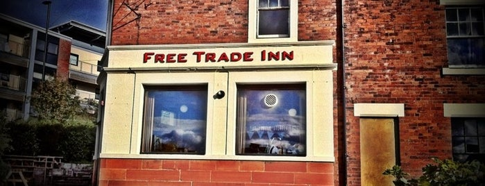 The Free Trade Inn is one of Newcastle.