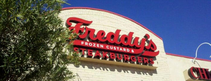 Freddy's Frozen Custard & Steakburgers is one of PHX Burgers in The Valley.