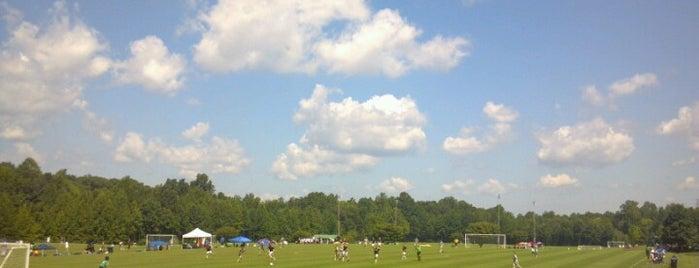 Bryan Park Soccer Complex is one of Locais curtidos por Brendiflex.