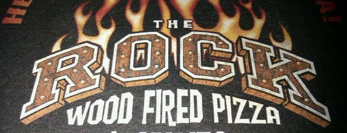The Rock Wood Fired Pizza is one of Food.