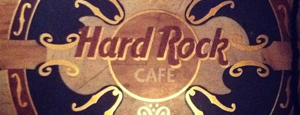 Hard Rock Cafe is one of ?.