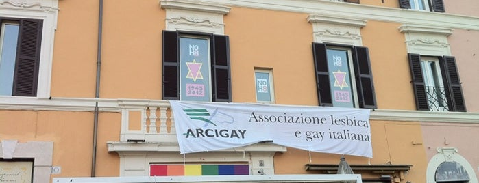 Arcigay Nazionale is one of Roma LGBT.