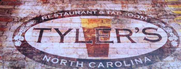 Tyler's Restaurant & Taproom is one of Durham Favorites.