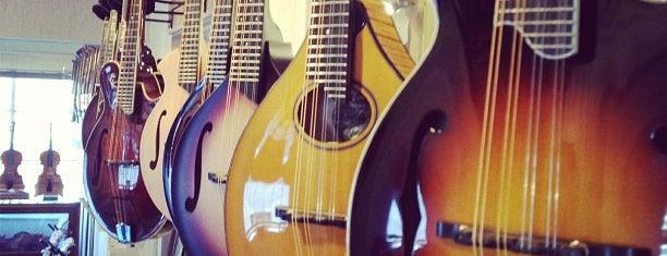 Gryphon Stringed Instruments is one of Locais salvos de Arturo.
