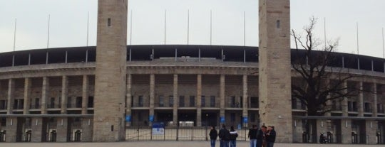 Olympiastadion is one of International Sports~Part 1....