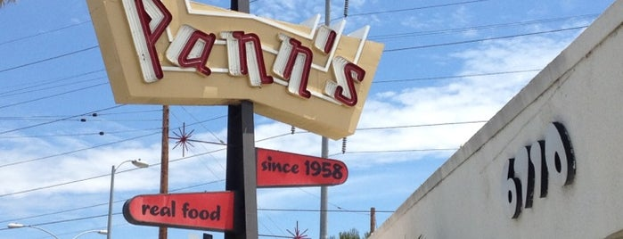 Pann's Restaurant & Coffee Shop is one of 26 Classic Los Angeles Diners.