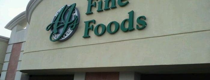 AJ's Fine Foods is one of Tempat yang Disukai Barry.