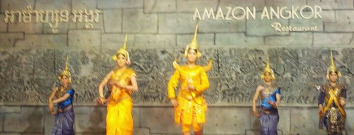 Amazon Angkor Restaurant is one of Vietnam/Camboya.
