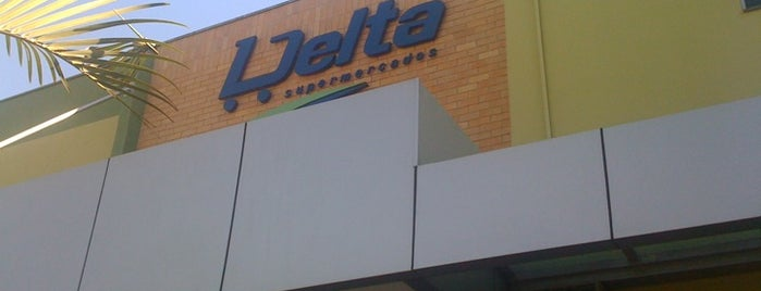 Delta Supermercados is one of Orte, die João Paulo gefallen.