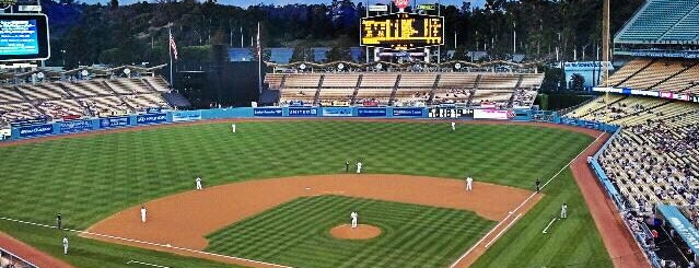 Dodger Stadium is one of Essential Los Angeles.