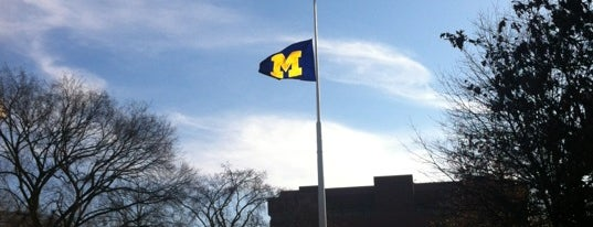 University of Michigan is one of College Love - Which will we visit Fall 2012.