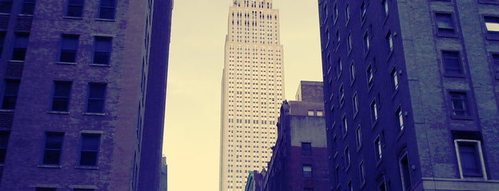 Empire State Building is one of Marvel Comics NYC Landmarks.