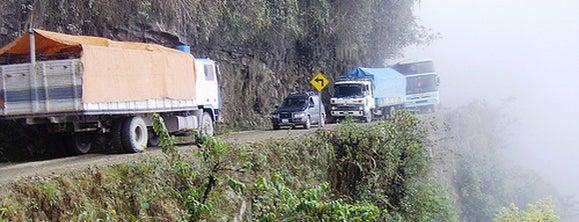 Camino a los Yungas (Camino de la Muerte) is one of Sitios Internacionales.