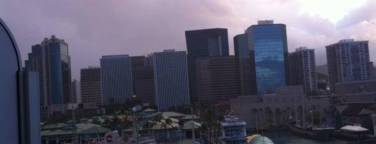 Honolulu Harbor is one of Honolulu: The Big Pineapple #4sqCities.