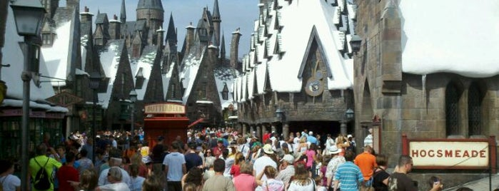 The Wizarding World Of Harry Potter - Hogsmeade is one of Universal's Wizarding World of Harry Potter.