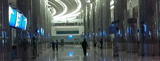 Dubai International Airport (DXB) is one of Airports of the World.