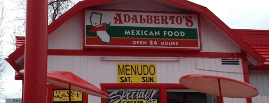 Adalberto's Mexican Food is one of YumSac.