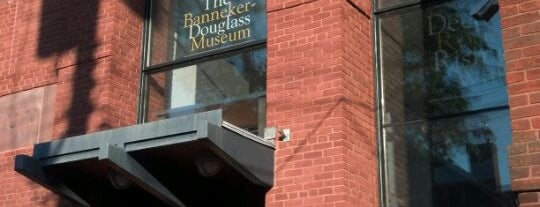 Banneker-Douglass Museum is one of Historic Sites - Museums - Monuments - Sculptures.