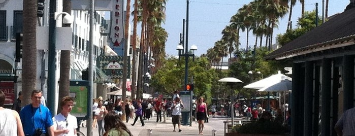 Third Street Promenade is one of Los Ángeles.