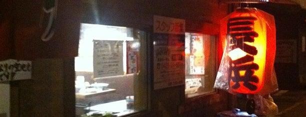 Nagahama Ramen is one of สถานที่ที่บันทึกไว้ของ 東京人.