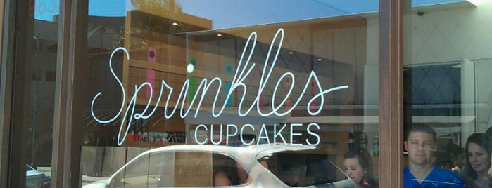 Sprinkles Cupcakes is one of Essential Los Angeles.