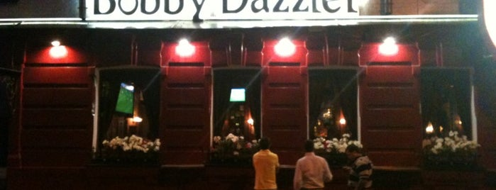 Bobby Dazzler Pub is one of Бары в Москве.