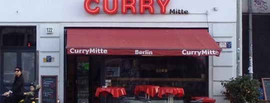 Curry Mitte is one of Currywurst.