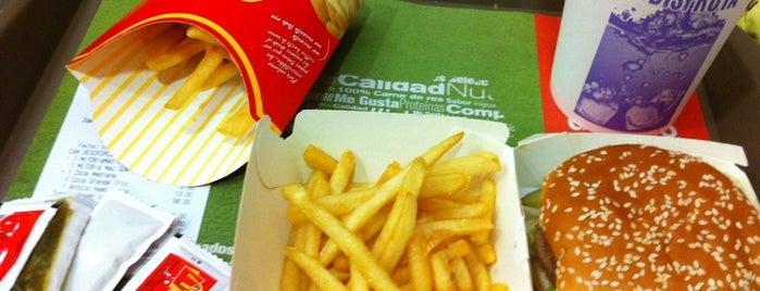 McDonald's is one of All-time favorites in Mexico.