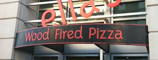 Ella's Wood-Fired Pizza is one of Gluten Free menus.