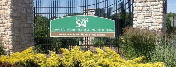 Missouri S T Campus Map