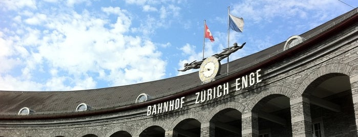 Bahnhof Zürich Enge is one of Zurich Places To Visit.