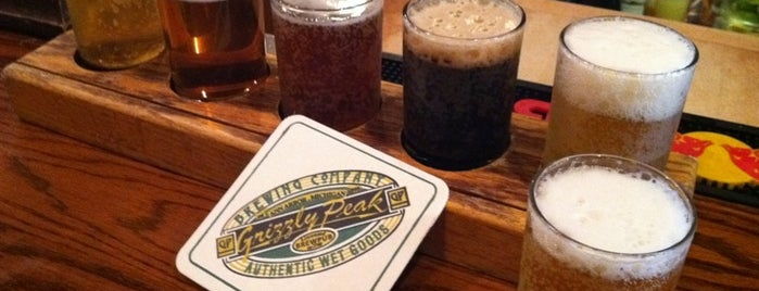 Grizzly Peak Brewing Co. is one of Michigan Breweries.