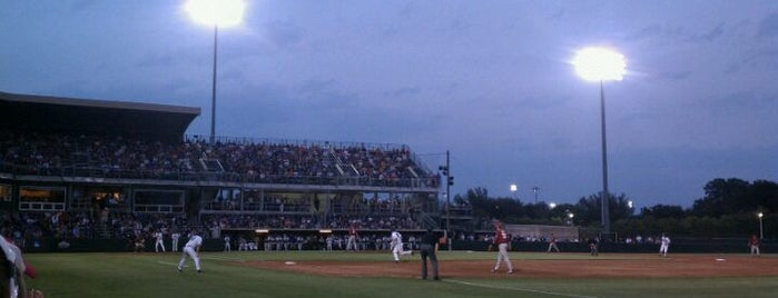 Lupton Baseball Stadium is one of Explore TCU.