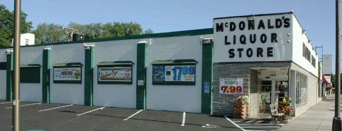 McDonald's Liquor is one of Lugares favoritos de Wolfram.