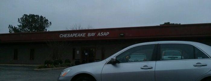 Chesapeake Bay ASAP is one of Locais curtidos por Dawn.